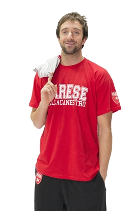 Immagine di T-shirt rossa Pall. Va - Adulto