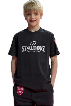 Immagine di T-shirt Spalding nera - Bambino