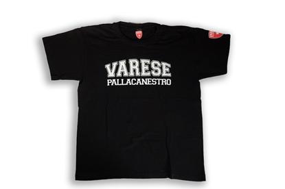Immagine di T-shirt nera Pall. Va - Adulto