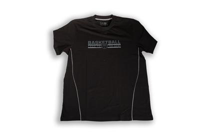 Immagine di T-shirt Spalding nera - Adulto
